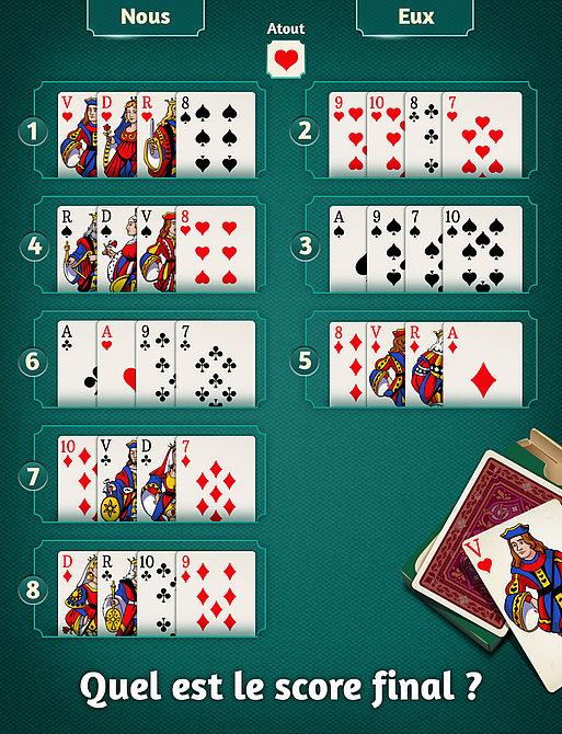 Comment compter les points à la Belote classique ?