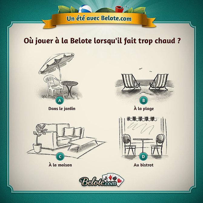 Les conseils de Belote.com pour un été au top !