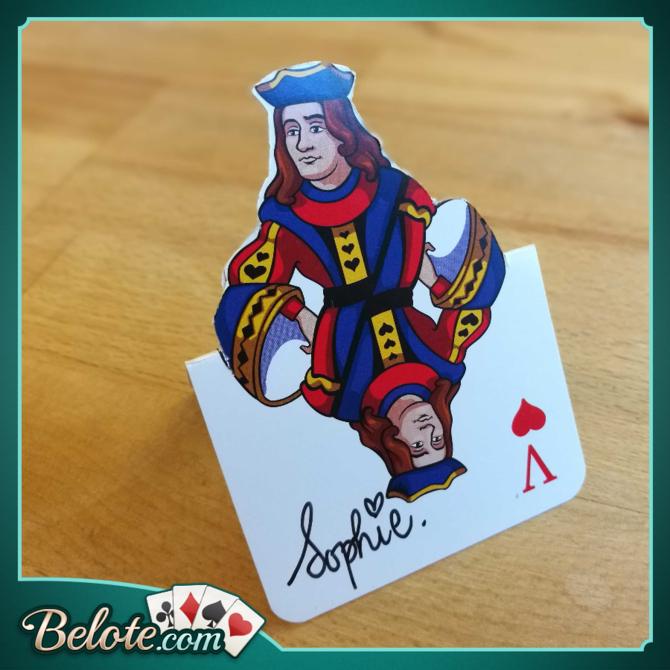 Décorez votre table de fête avec des cartes à jouer
