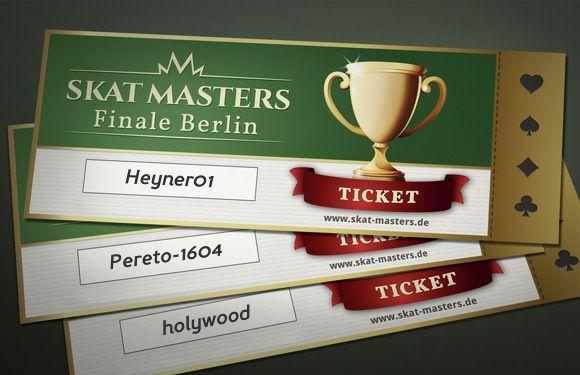 Die Ergebnisse des 17. Skat Masters Qualfikationsturniers